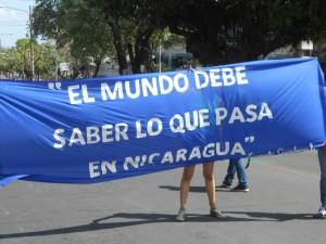 Världen måste få veta vad som händer i Nicaragua