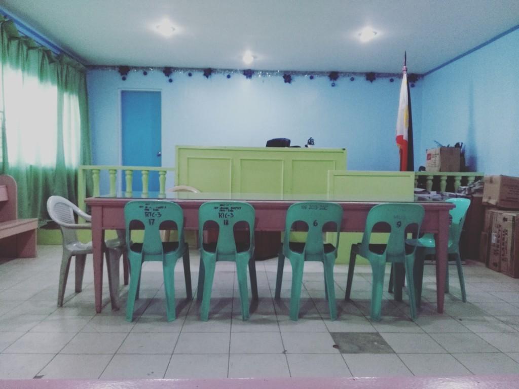 Rummet i Tagbilaran Hall of Justice. Foto: Live Brathovde