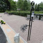 Nya askgravlunden på Södra kyrkogården