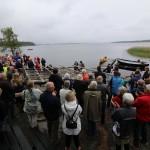 Jungfrutur med den nybyggda Hammarösnipan, på Kulturbygdens dag