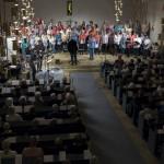 Fullsatt i Skoghalls kyrka