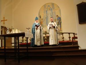 Med kh Daniel Lindén i Marma kyrka