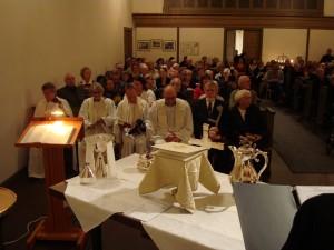 Välbesökt Marma kyrka 1 i Advent 2013