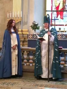 Mottagande av kyrkoherde Cecilia Jansdotter i Östervåla