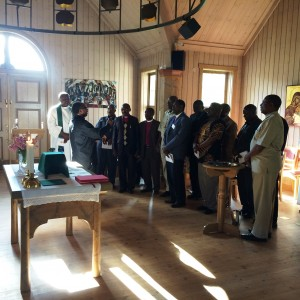 ELCT:s biskopar sjunger vid avslutningsmässan