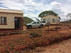 Solpaneler driver stiftets kontor i Svishavane