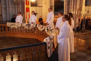 Inför prästvigning (Foto: Mats Lagergren)