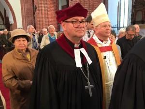 Procession med biskop Woldemar Pytel, Wroclaw