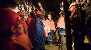 Besök i Falu koppargruva. Foto Magnus Aronson