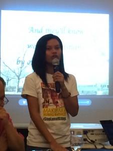 Ung kvinna från Lumad- folket