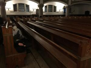 Natt i St Johanneskyrkan i Malmö