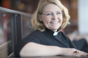 Sara Jacobsson Grip är kyrkoherde i Vantörs församling  och sitter med i FBHO:s styrgrupp.