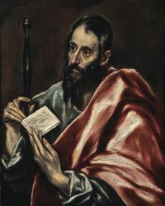 St Paul, målning av El Greco.