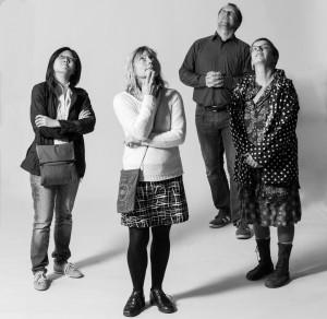 F.v. Catherine Wong, Ylva Liljeholm, Guido Erbricht och Christiane Thiel. Foto: Dok-Leipzig