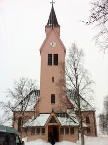 Kyrkan i Arjeplog. Foto: Tomas Axelson