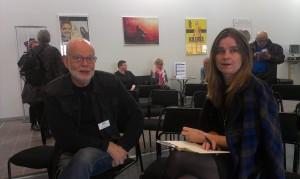 K G Hammar och Kerstin Gezelius. Foto: Tomas Axelson