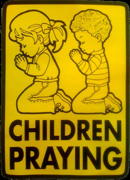 Barn som ber