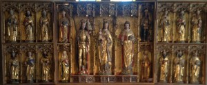 Altarskåpet i S:t Stefans kyrkan i Knivsta