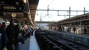 ankomst tåg