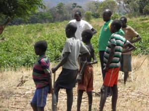 Sydsudan är bördigt. Stor potential för jordbruksproduktion.