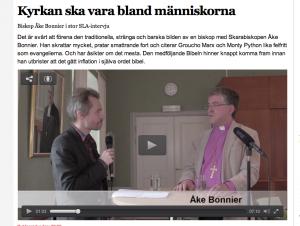 Åke Bonnier i SLA