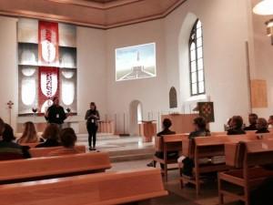 Helena Taubner och Anna Torbrand föreläser i S:ta Helena kyrka i Skövde