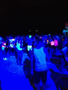 Dansare på stranden...