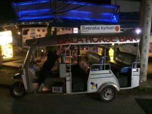En riksbekanta tuktuk.