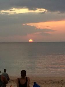 Solnedgången måste upplevas för att man ska kunna tro på den...