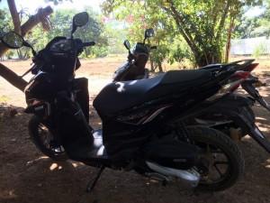 Motorcykel!