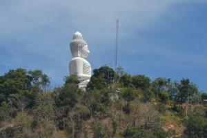 Big Buddha i sol
