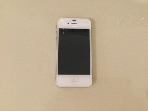 Mycket vattenskadad iPhone :-(