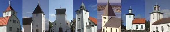 Svenska kyrkan Tjörns sju kyrkor. Foto Linn Heiel Ekeborg.