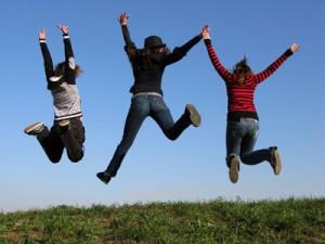 Hopp! Foto: IKON