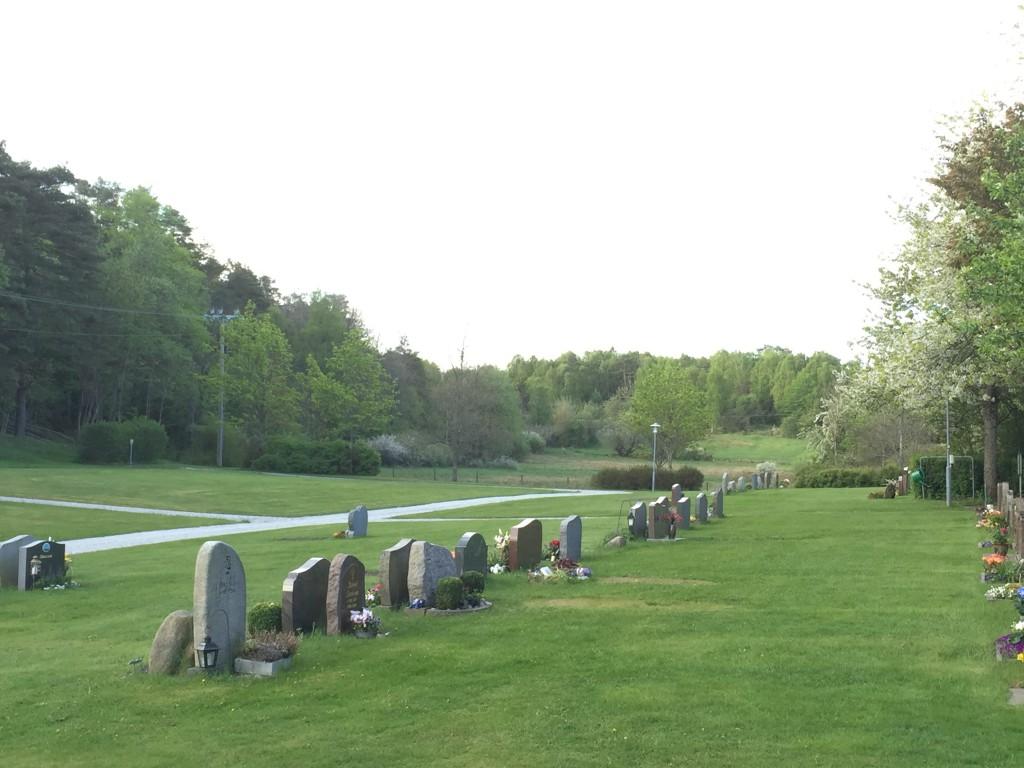Stenkyrka kyrkogård. Foto Carina Etander Rimborg