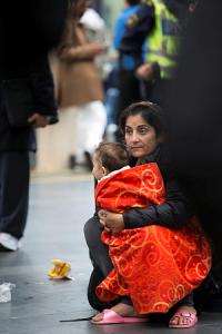Flykting Foto Gunnar Menander/GMPP/Ikon