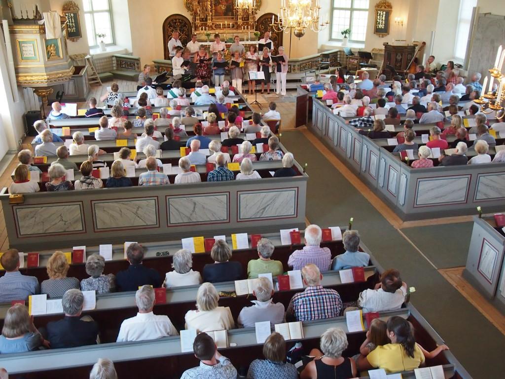 Valla församling 5 juni 2016. Foto Carina Etander Rimborg