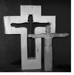 Korset och Jesus. Foto: Bibelskolan.com