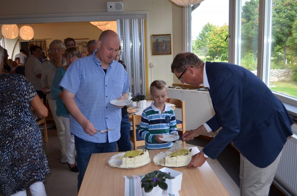Andreas Gertonsson avtackning 18 sept 2016 i Valla kyrka. Foto Lars-Olof Olsa Henriksson.