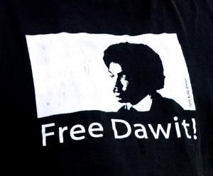 Free Dawit Isaak. Bild:  Frankie Fouganthin