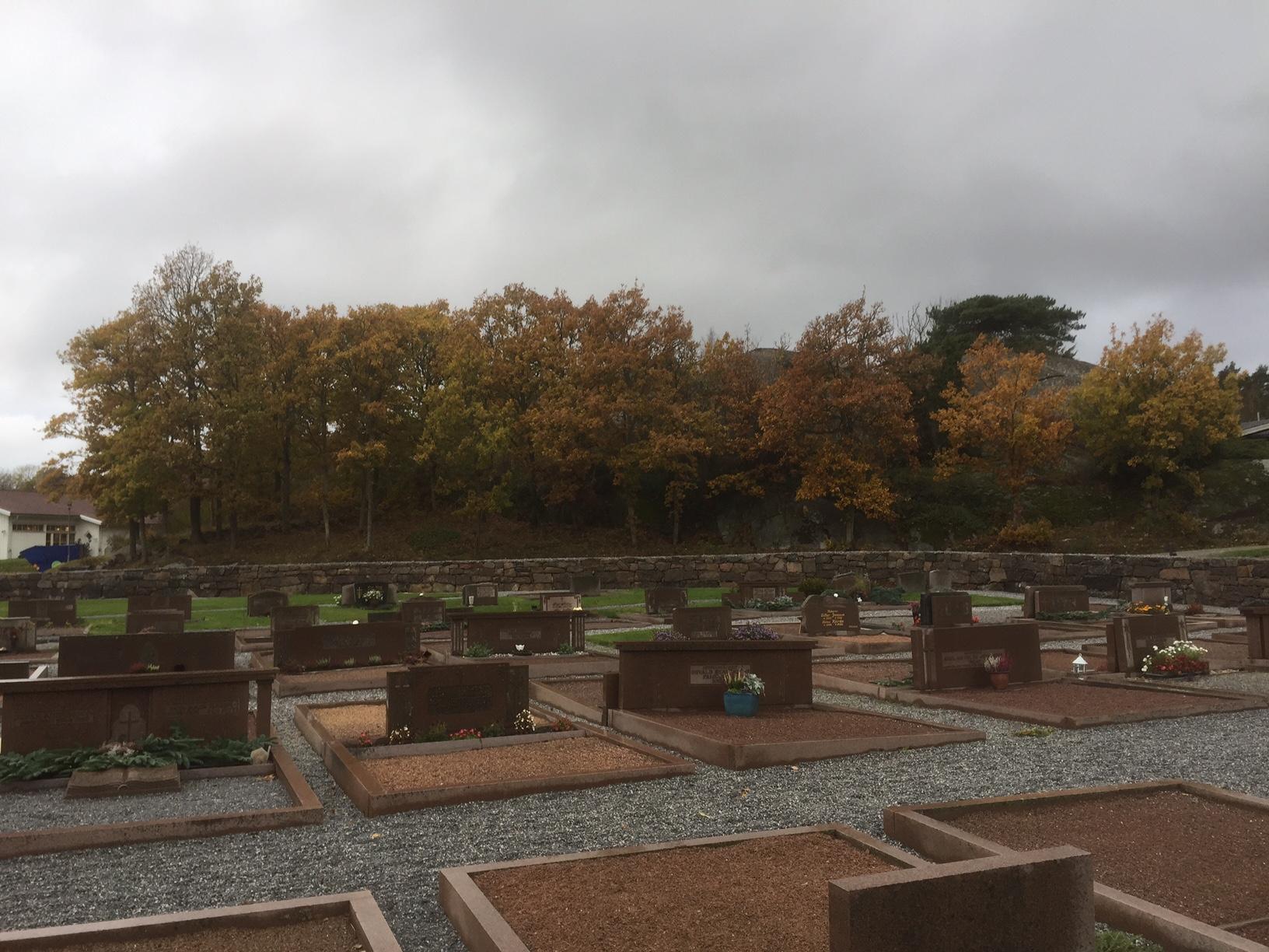 Klövedals kyrkogård. Foto Owe Berntsson.