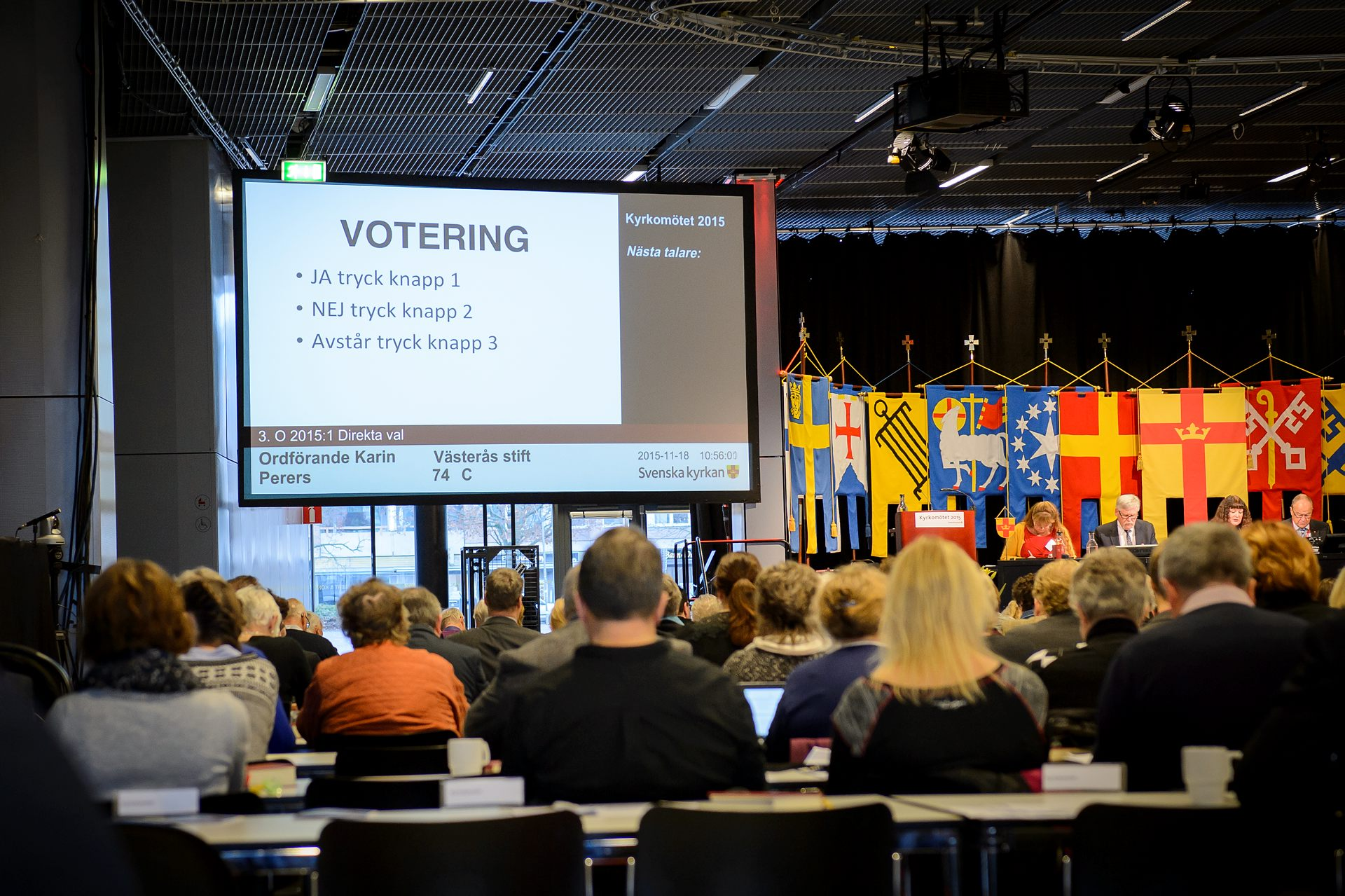 Kyrkomötet 2015. Foto Magnus Aronson IKON