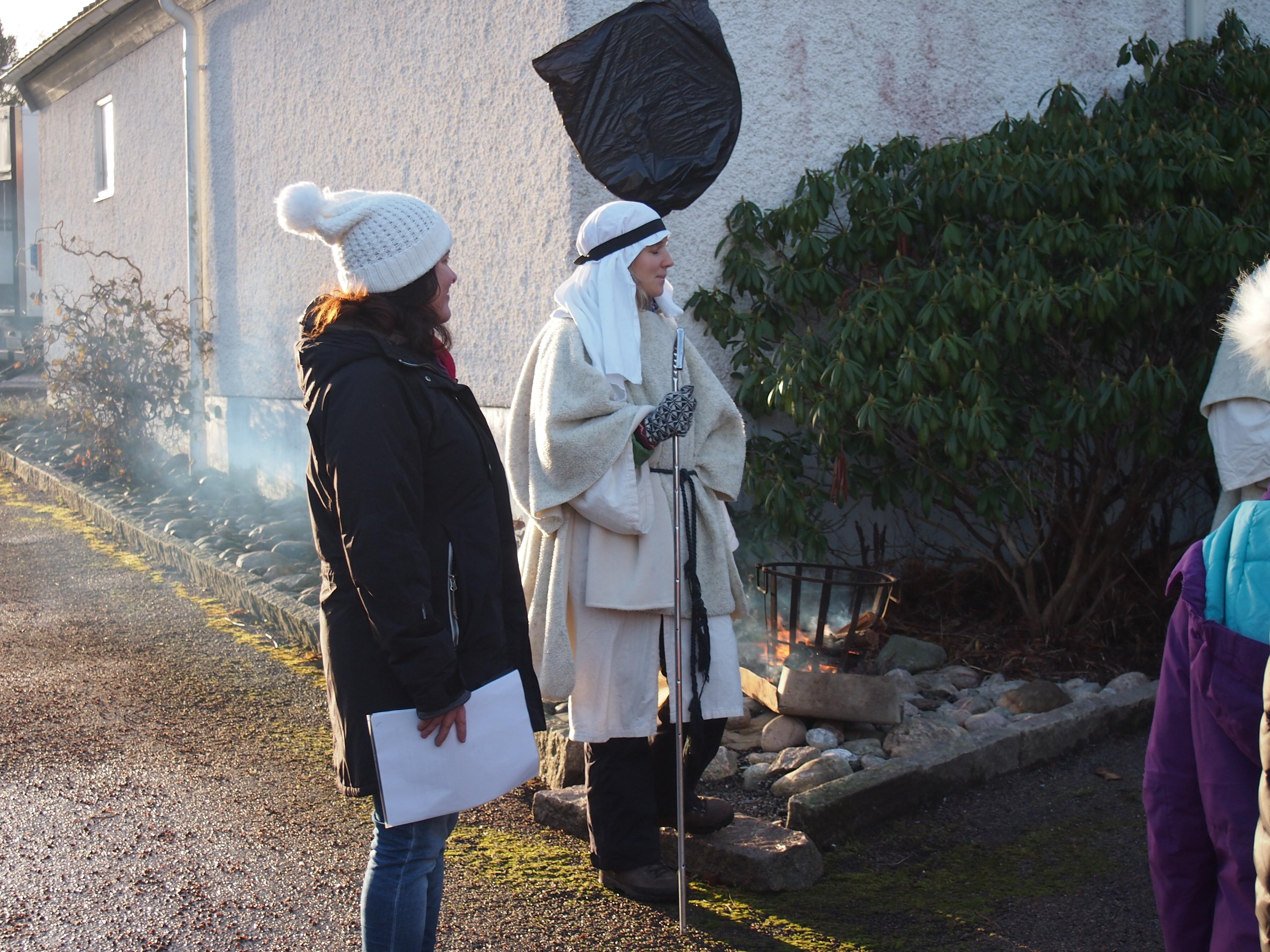 Levande julkrubba 2016. Valla församling. Foto Carina Etander Rimborg.