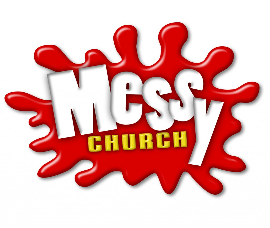 Official Messy Church logo - white background - 1535 pixels wide - 300dpi