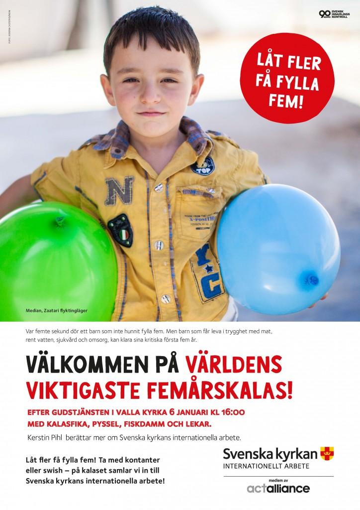 Julfest Valla 6 januari kl 16:00