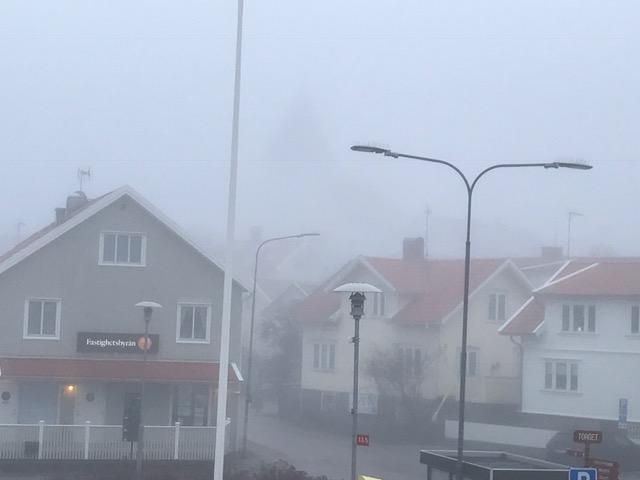 Dimma i Skärhamn. Foto Carina Etander Rimborg