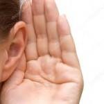 lyssna öra