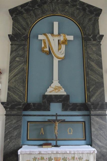 Altaruppsatsen i Kinne-Kleva kyrka