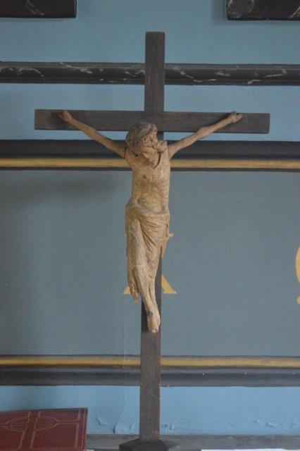 Jesus lider på korset