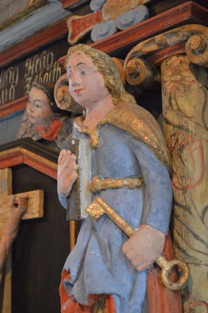 Sankt Petra med nycklarna?
